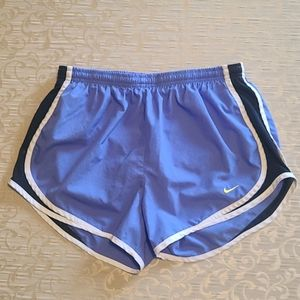 Nike dry fit running shorts ladies size M